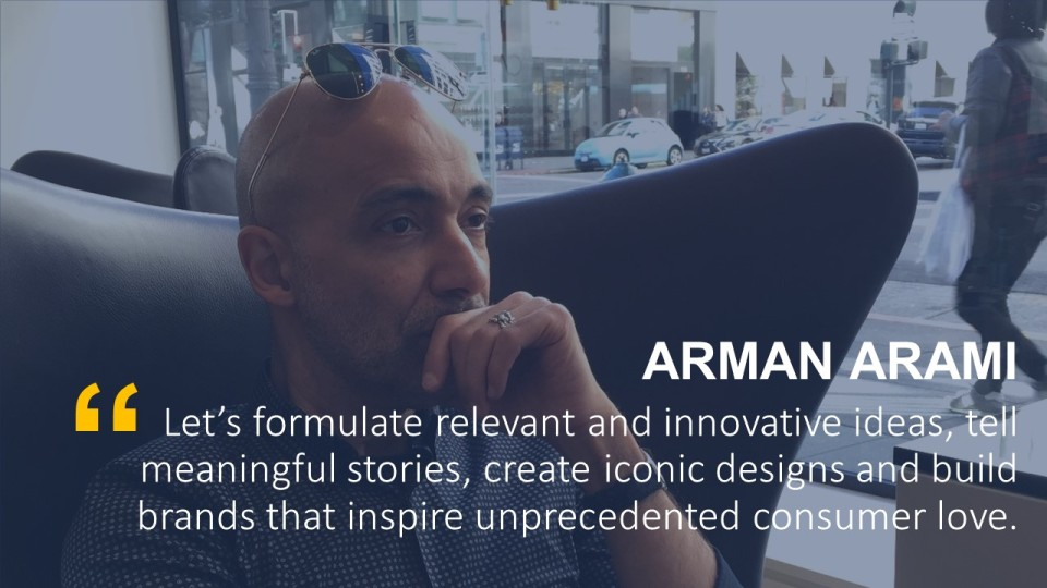 ARMAN ARAMI Website Home Page